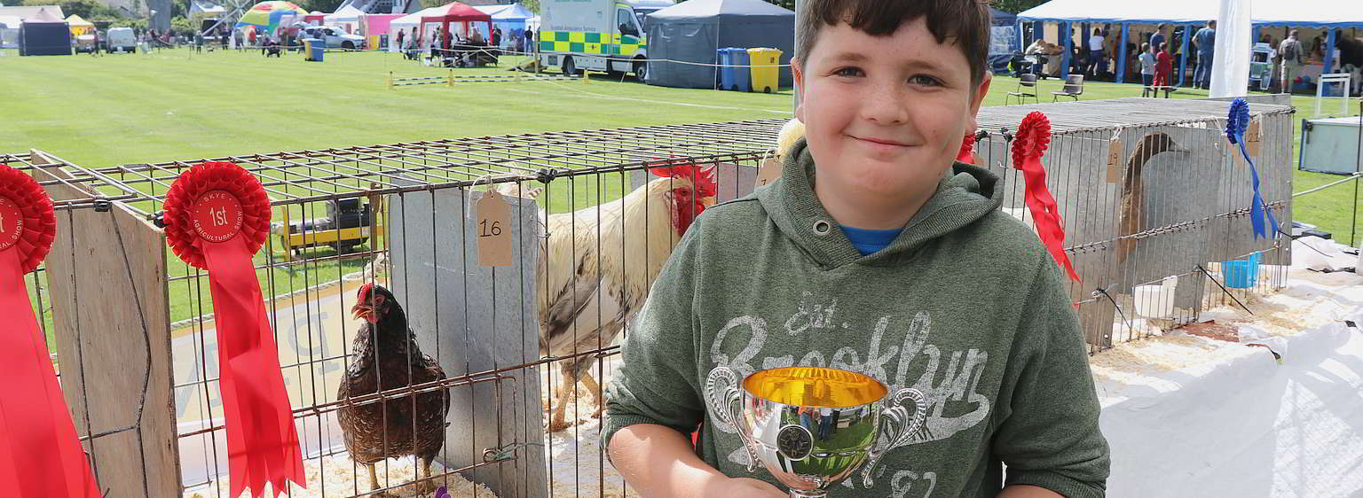 poultry at skye show